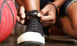 high ankle sprain treatment
