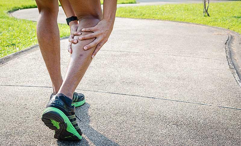 calf muscle injury