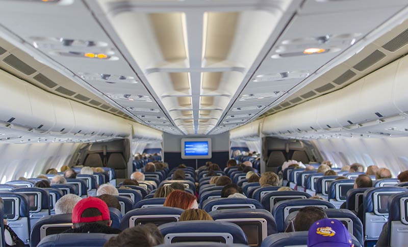airplane back pain